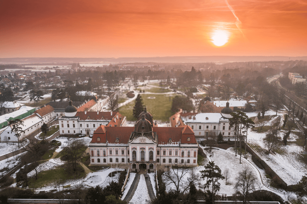 Royal castle in Godollo, Hungary