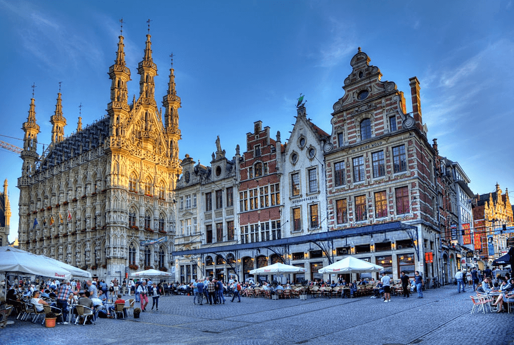 tourist attraction in belgium Historical Leuven Town hall