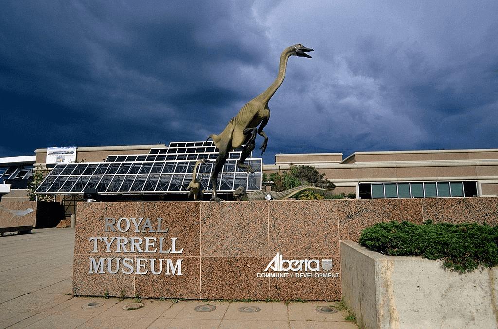 Royal Tyrrell Museum Dinosaur Park