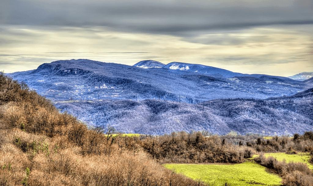 Mountains of Lesser Caucasus